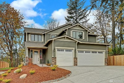 Bothell Single Family Home For Sale: 18812 10th Dr SE #Lot 7
