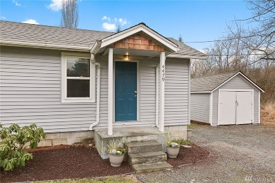 Bellingham WA Single Family Home For Sale: $270,000