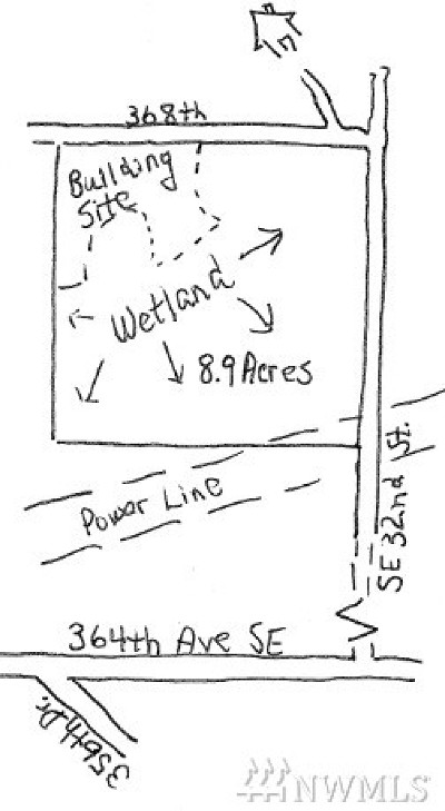 King County Residential Lots & Land For Sale: 30 368th Ave SE