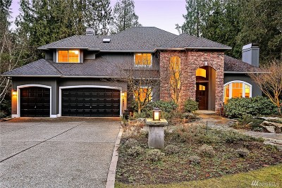 Woodinville Single Family Home For Sale: 16602 198th Ave NE