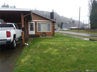 Hoquiam WA Single Family Home Sold: $98,000