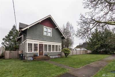 Tacoma Single Family Home For Sale: 5001 S Asotin St