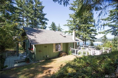 Lummi Island Single Family Home For Sale: 1156 Island Dr