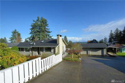 Gig Harbor Single Family Home For Sale: 6023 Soundview Dr NW
