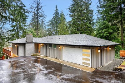 Bellevue Single Family Home For Sale: 17406 SE 60th St