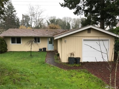 Tacoma Single Family Home For Sale: 6237 S Cheyenne St