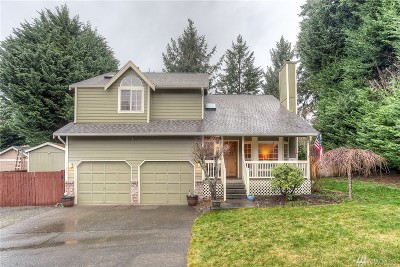 Bonney Lake Single Family Home For Sale: 21809 116th St Ct E