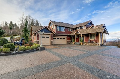 Bellingham Single Family Home For Sale: 4331 Saddlestone
