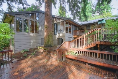 Bellevue Single Family Home For Sale: 10823 SE 12th St