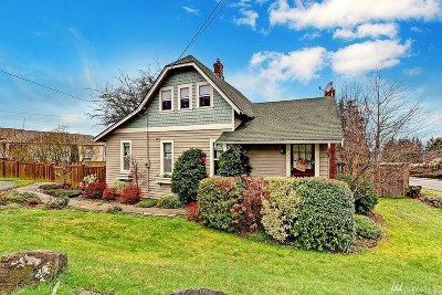 Edmonds Single Family Home For Sale: 1327 Olympic Ave