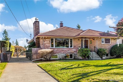 Seattle Single Family Home For Sale: 11416 12th Ave S