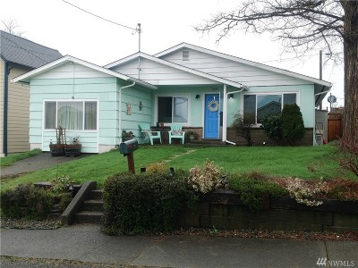 Montesano Single Family Home For Sale: 529 S 4th St