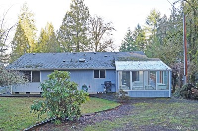 Shelton WA Single Family Home Sold: $225,000