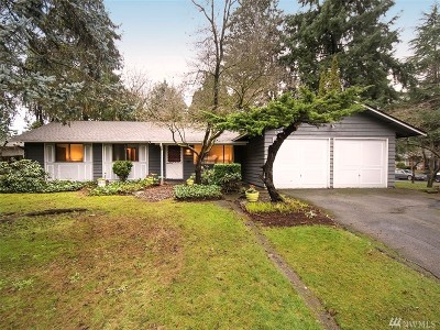 Kirkland Single Family Home For Sale: 13721 87th Ave NE