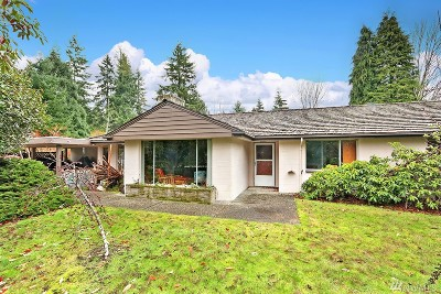 Burien Single Family Home For Sale: 16660 Marine View Dr SW