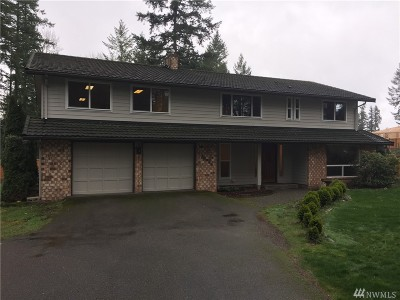 Sammamish Single Family Home For Sale: 23525 SE 32nd Wy