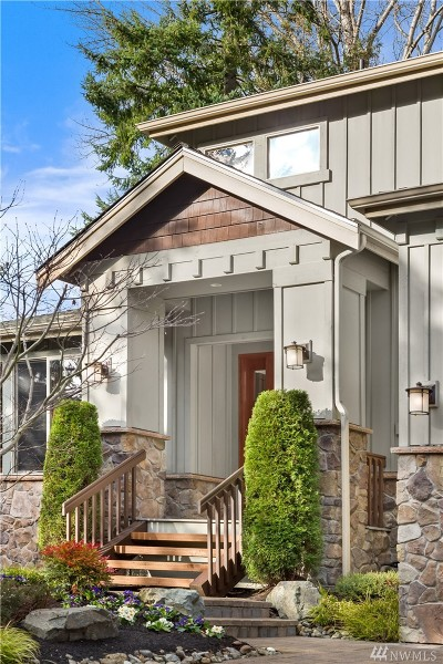 Bellevue Single Family Home For Sale: 10508 NE 20th St