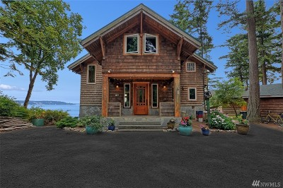 Lummi Island Single Family Home For Sale: 2231 N Nugent Rd N