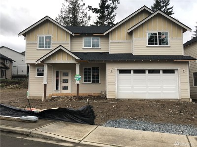 Bonney Lake Single Family Home Contingent: 7927 206th (Lot 1) Ave E