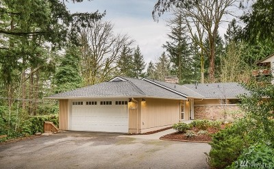 Mercer Island Single Family Home For Sale: 4307 E Mercer Way