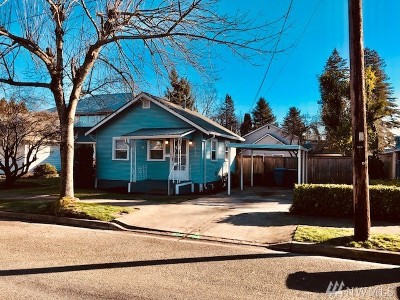 Puyallup WA Single Family Home For Sale: $189,500