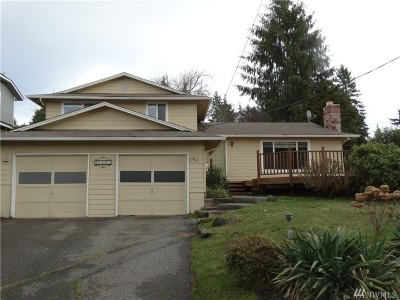 Edmonds Single Family Home For Sale: 18015 Homeview Drive