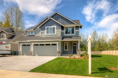 Puyallup Single Family Home For Sale: 14406 120th Lane E #Lot 2