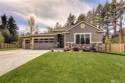 Puyallup Single Family Home For Sale: 14418 120th Lane E #Lot 5