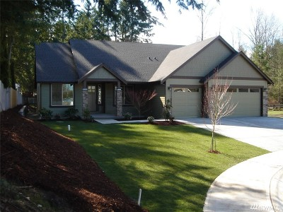 Puyallup Single Family Home For Sale: 14428 120th Lane E #Lot 6