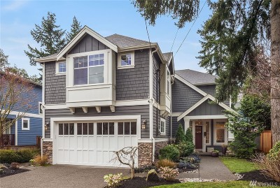 Seattle Single Family Home For Sale: 6047 39th Ave NE