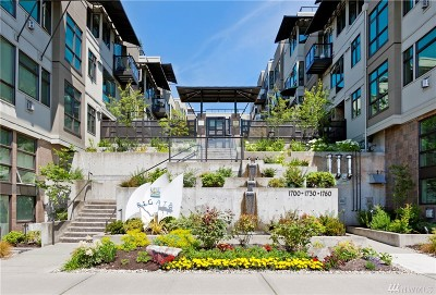 Seattle Condo/Townhouse For Sale: 1760 N Northlake Wy #321