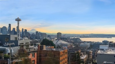 Condo/Townhouse Sold: 1001 Queen Anne Ave N #501