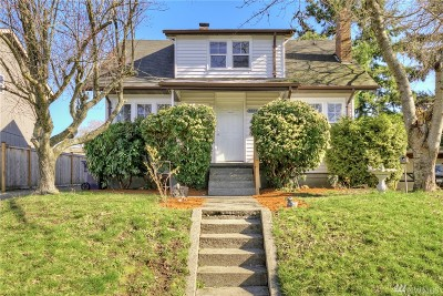 Tacoma Single Family Home For Sale: 4833 S Sheridan Ave