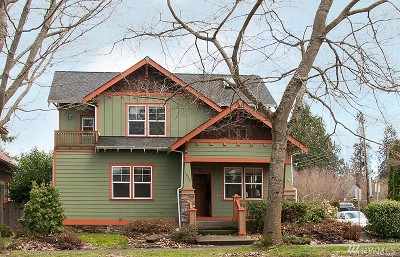 Thurston County Single Family Home For Sale: 1820 Capitol Way S