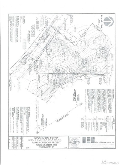Kent Residential Lots & Land For Sale: 22400 Canyon Dr