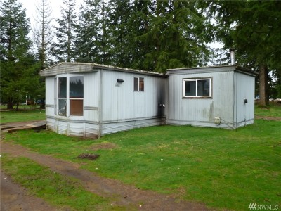 Rochester WA Single Family Home For Sale: $129,900
