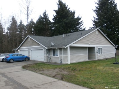 Puyallup Multi Family Home For Sale: 12808 164th St E
