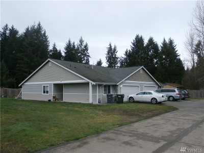 Puyallup Multi Family Home For Sale: 12802 164th St E