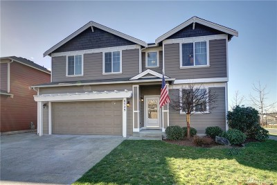 Thurston County Single Family Home For Sale: 8529 Wheatberry Dr SE