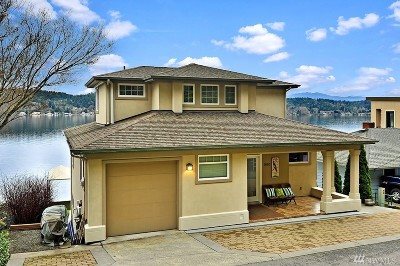 Bellevue Single Family Home For Sale: 1614 W Lake Sammamish Pkwy NE