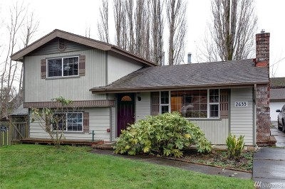 Bellingham Single Family Home For Sale: 2633 Valencia St