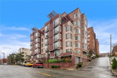 Condo/Townhouse Sold: 124 Bellevue Ave E #504