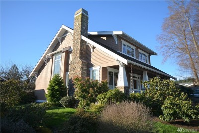 Anacortes Single Family Home For Sale: 1607 24th Place