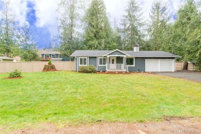 North Bend Single Family Home For Sale: 43911 SE 149th St