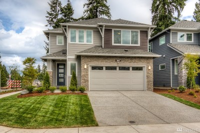 Seattle, Bellevue, Kenmore, Kirkland, Bothell Single Family Home For Sale: 21503 44th Dr SE #CT 04