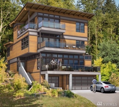 Bellevue Single Family Home For Sale: 439 West Lake Sammamish Pkwy SE