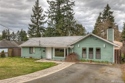 Mountlake Terrace Single Family Home For Sale: 22908 53rd Ave W