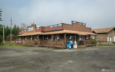 Mason County Commercial For Sale: 17490 W Shelton-Matlock Rd