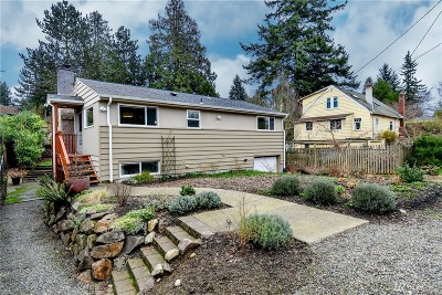 Single Family Home For Sale: 8710 38th Ave NE