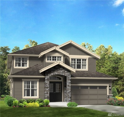 Kirkland Single Family Home For Sale: 13617 NE 133rd Place #Lot4